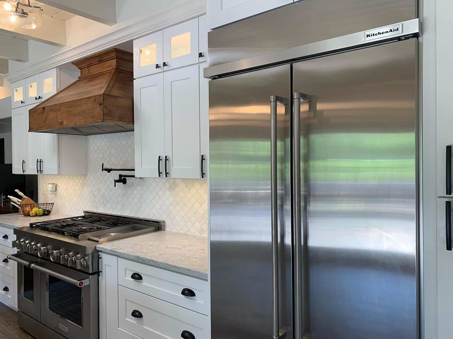 A high-quality kitchen remodel completed by our construction team